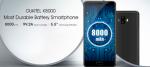 Смартфон с батареей 8000 – Oukitel K8000. Технические характеристики смартфона объявлены: дисплей Samsung AMOLED и аккумулятор с емкостью 8000 мАч